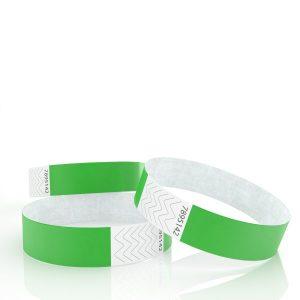 Bracelet bracelet tyvek 19mm avec marquage une couleur