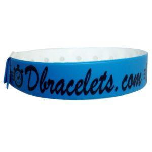 Bracelet Bracelet vinyle avec marquage 1 couleur