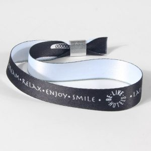 Bracelet Bracelet tissu satiné imprimé