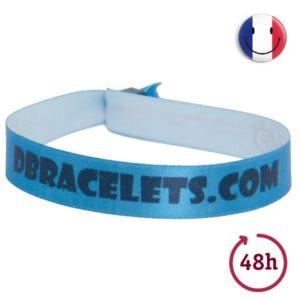Bracelet Bracelet en tissu satiné imprimé urgent