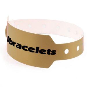 Bracelet bracelet plastique large avec marquage
